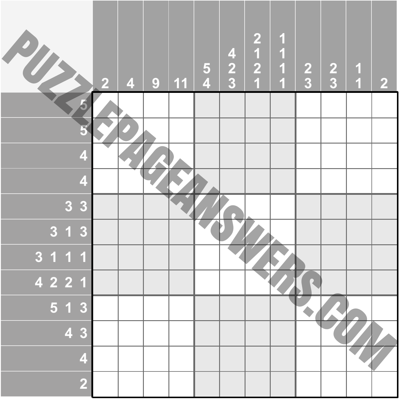 Puzzle Page Picture Cross September 8 2019