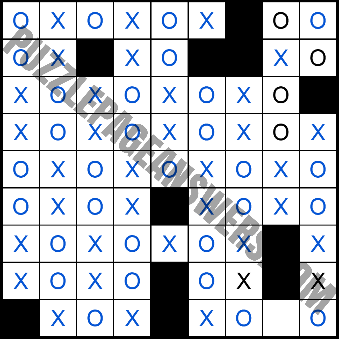Puzzle Page Os And Xs December 10 2020 Answers Puzzlepageanswers Com